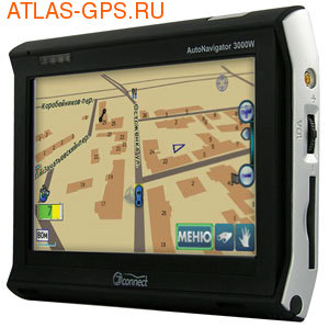 GPS навигатор JJ-Connect AutoNavigator 3000 Wide