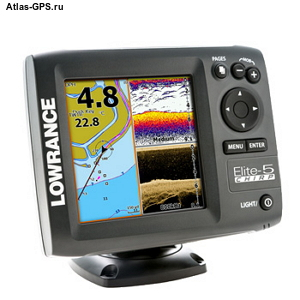 Эхолот Lowrance Elite-5 CHIRP (83/200+455/800 кГц)