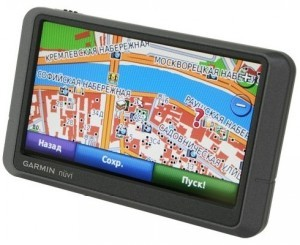 GPS навигатор Garmin Nuvi 205W black