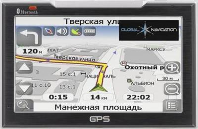 GPS навигатор Global Navigation GN7096