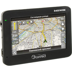 GPS навигатор JJ-Connect Autonavigator 3400 Wide