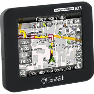 GPS навигатор JJ-Connect AutoNavigator 333