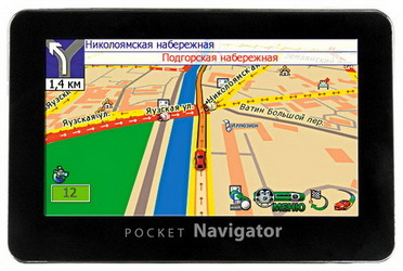GPS навигатор Pocket Navigator MC-430 R2