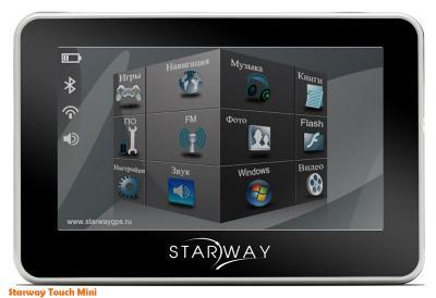 GPS навигатор Starway Touch Mini