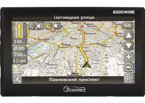 GPS навигатор JJ-Connect AutoNavigator 6000 Wide