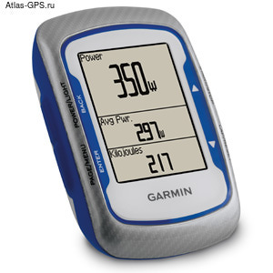Спортивный GPS навигатор Garmin Edge 500 HRM+CAD